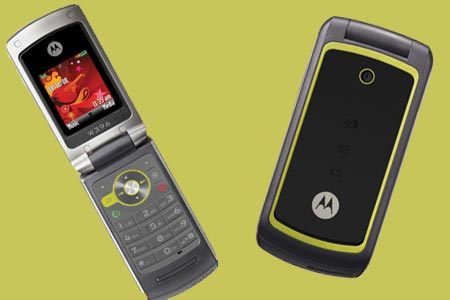 Motorola W396 Mobile Phone